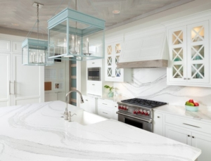White Cambria Kitchen Countertops