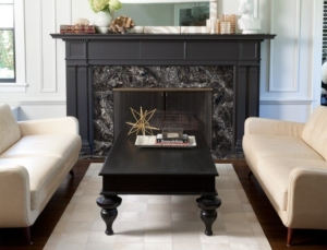 Cambria Stone Fireplace