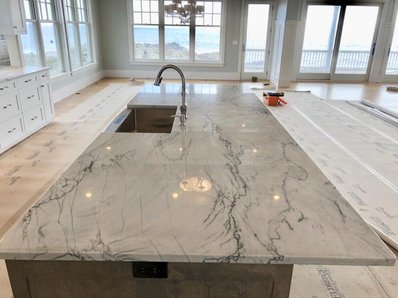 Custom Kitchen and Bathroom Countertop Installation Photo