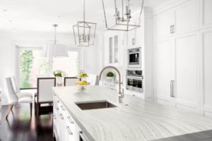 Spectrum White Island Kitchen Counters
